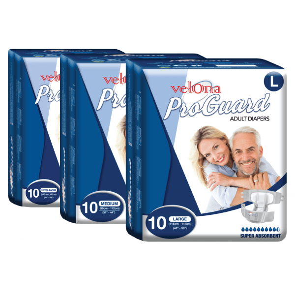 Velona Proguard Adult Diaper (10pc Packs)