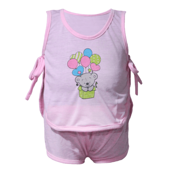 Velona Baby Suit with Ribbon Tie