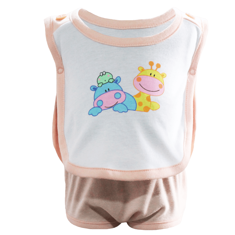 Velona Easy Wear Baby Suit with Snap Button