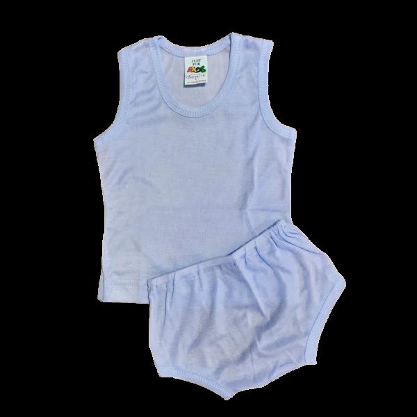 Velona Vest and Pant - Blue