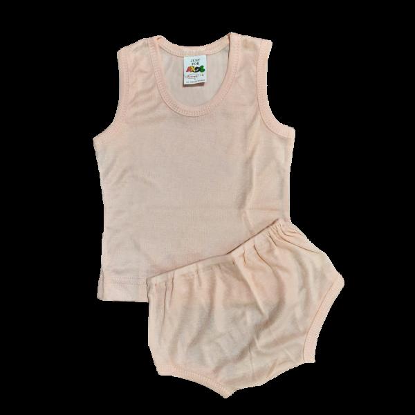 Velona Vest and Pant - Peach