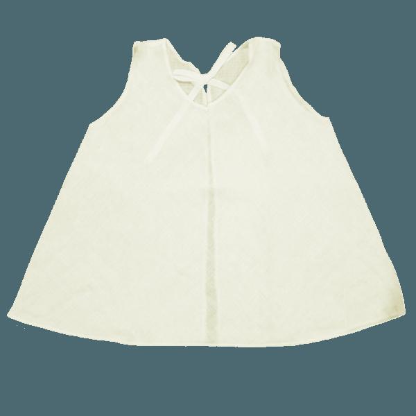 Velona Large Baby Shirt - Ivory
