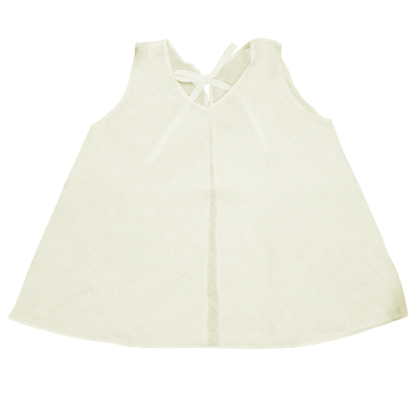 Velona Newborn Baby Shirt - Ivory