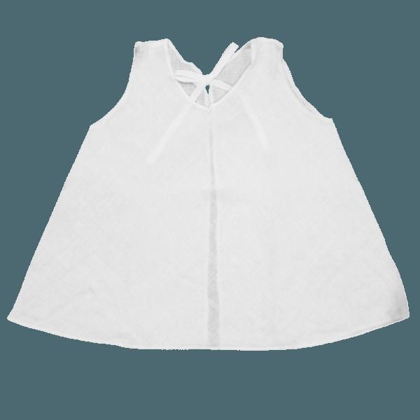 Velona Large Baby Shirt - White