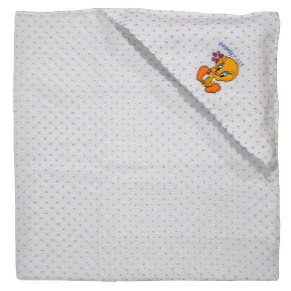Velona Cotton Receiving Blanket - Muslin