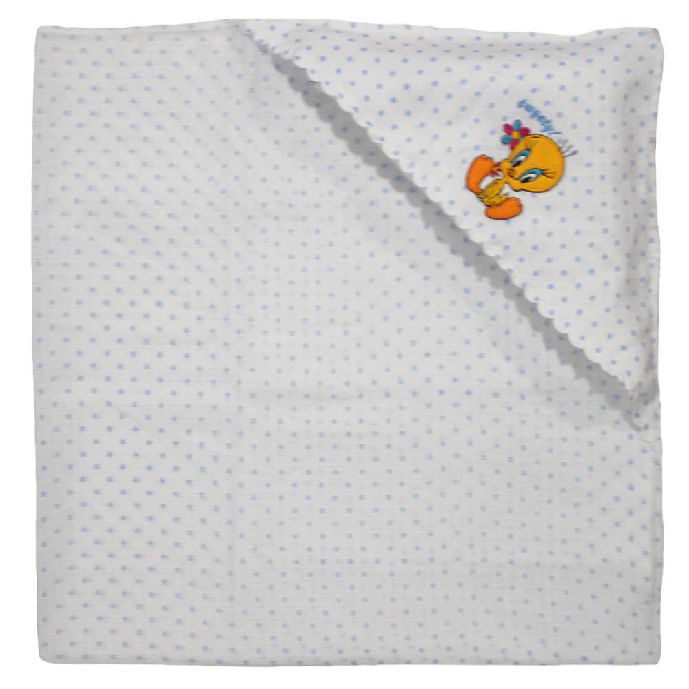 Velona Cotton Receiving Blanket - Muslin
