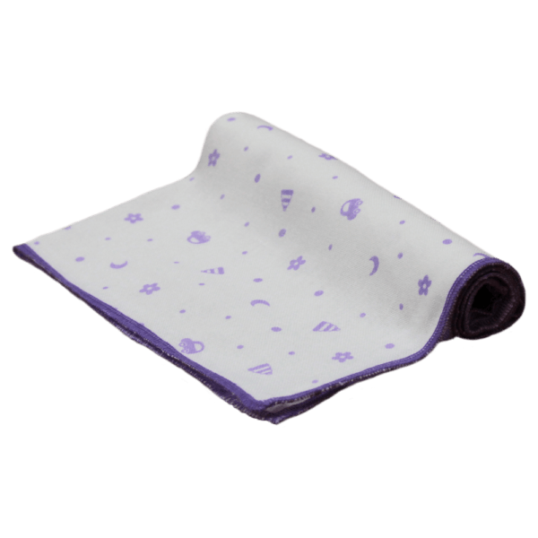 Velona Cloth Purple Car Nappy for Hospital Bag