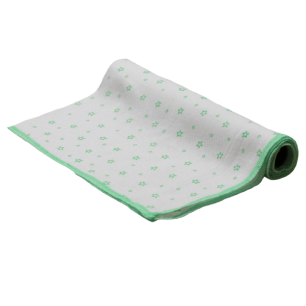 Velona Cloth Green Star Nappy