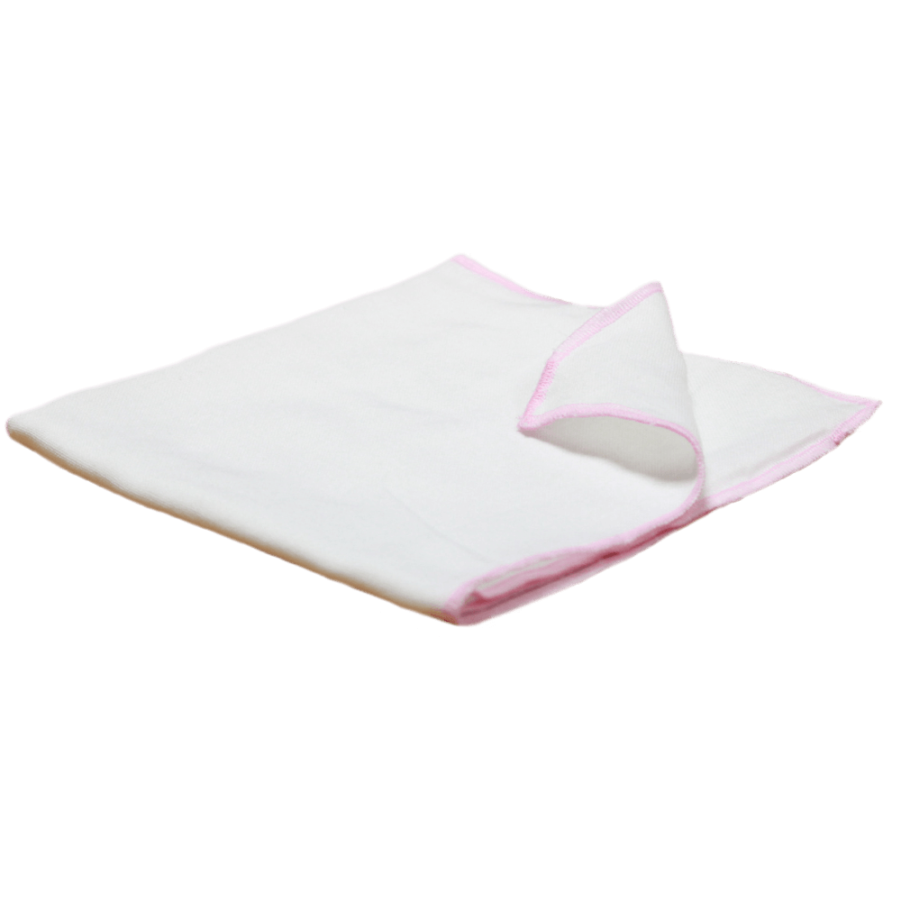 Velona Cotton Nappy With Pink Border
