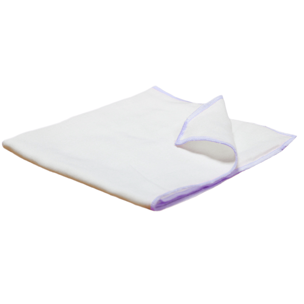 Velona Organic Cloth Nappy With Purple Border