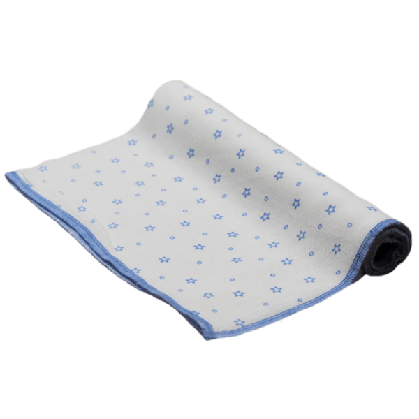 Velona Large Blue Star Nappy