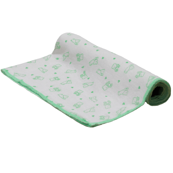 Velona Large Reusable Green Teddy Nappy