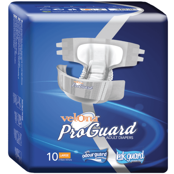 Velona Proguard Adult Diaper 10pc Pack