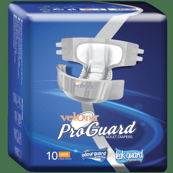 Velona Proguard Adult Diaper 10pc Pack