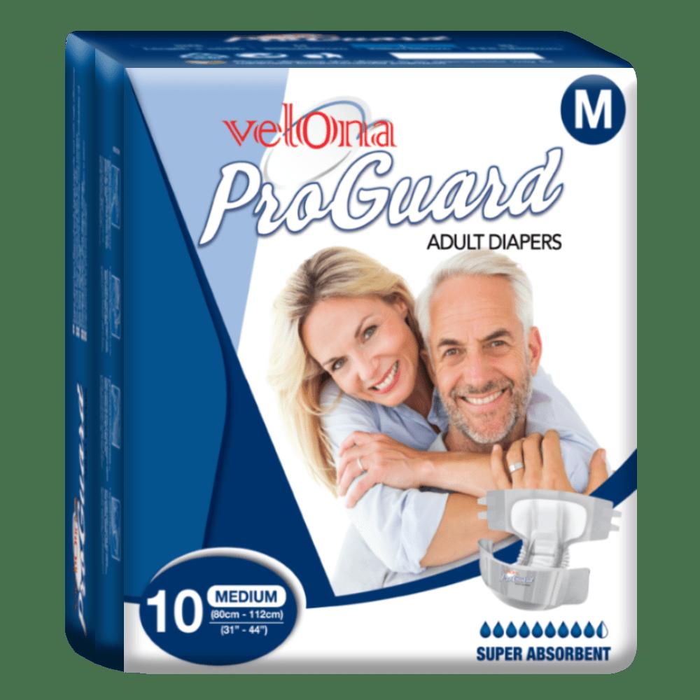 Velona Proguard Adult Diaper (M) 10pc