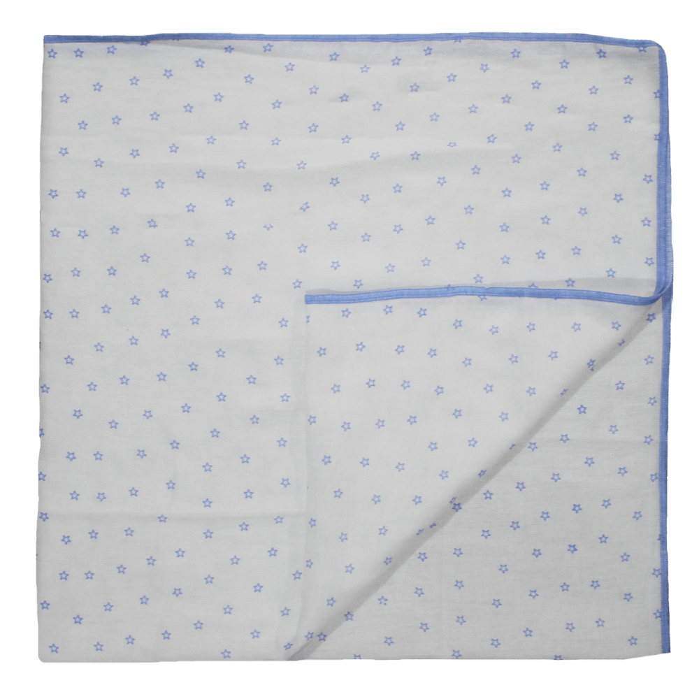 Velona Baby Swaddling Cloth - Blue Stars