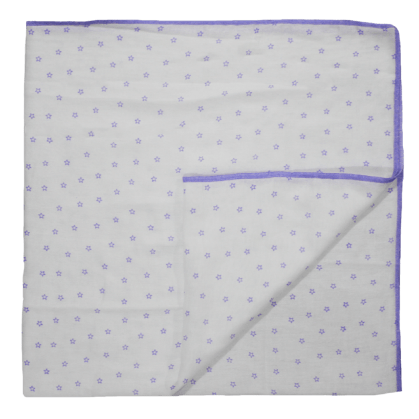 Velona Infant Blanket Wrap - Purple Stars
