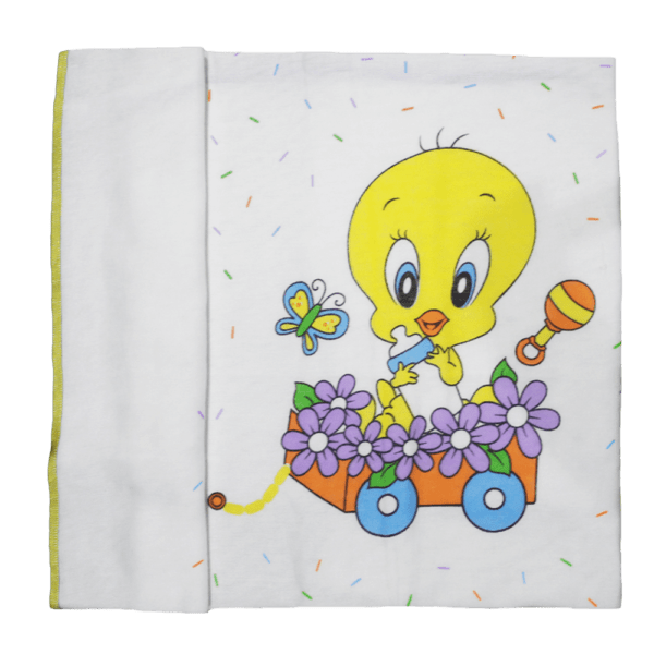 Soft Baby Looney Tunes Towel -Organic Cotton