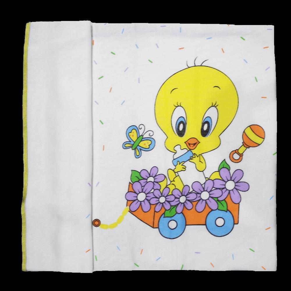 Soft Baby Looney Tunes Towel -Organic Cotton