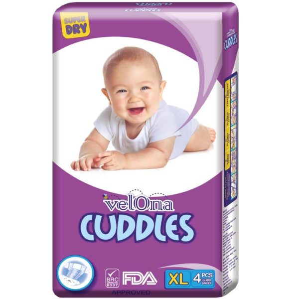 Velona Cuddles Baby Diaper in a Mini Pack