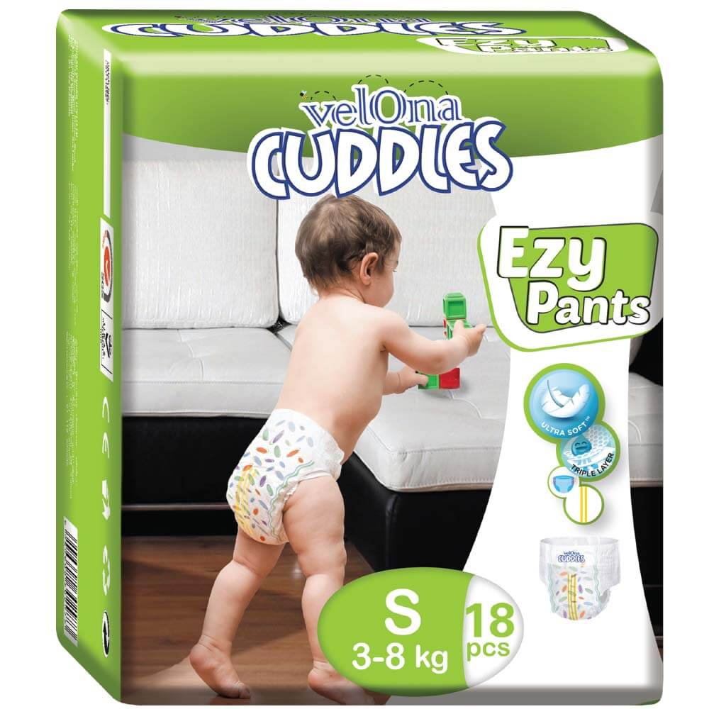 Velona Cuddles 18pc Ezy Pants Pack