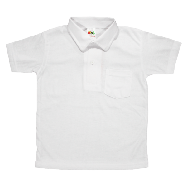 Velona Classic White Poloshirt