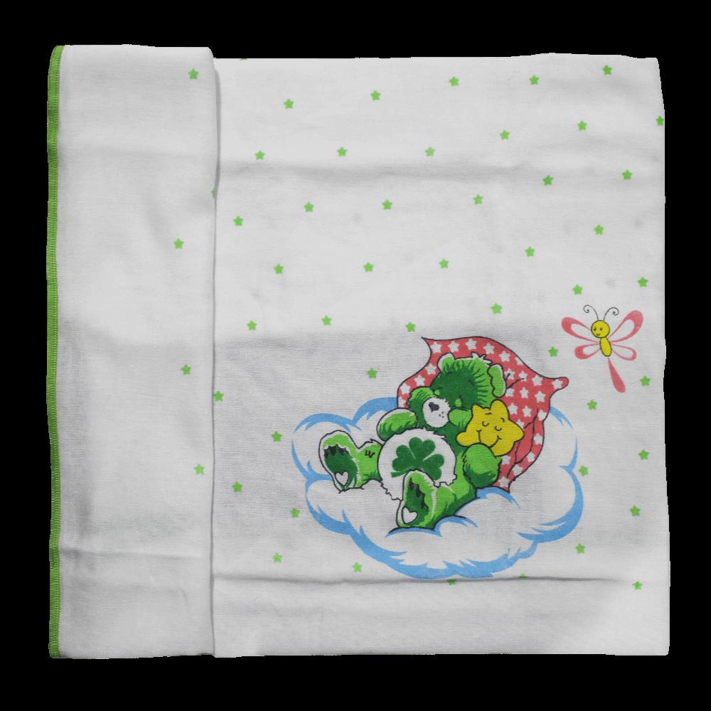 Velona White baby Towel with Border