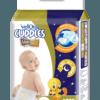 Velona Cuddles Slim Fit Looney Tunes Diapers (NB)