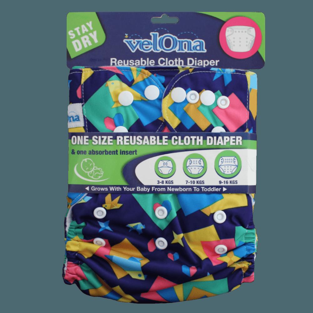 Velona Snap Button Cloth Diaper