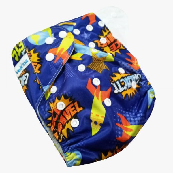 Space Explorers Reusable Cloth Diaper