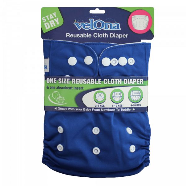 Velona Navy Blue Cloth Diaper