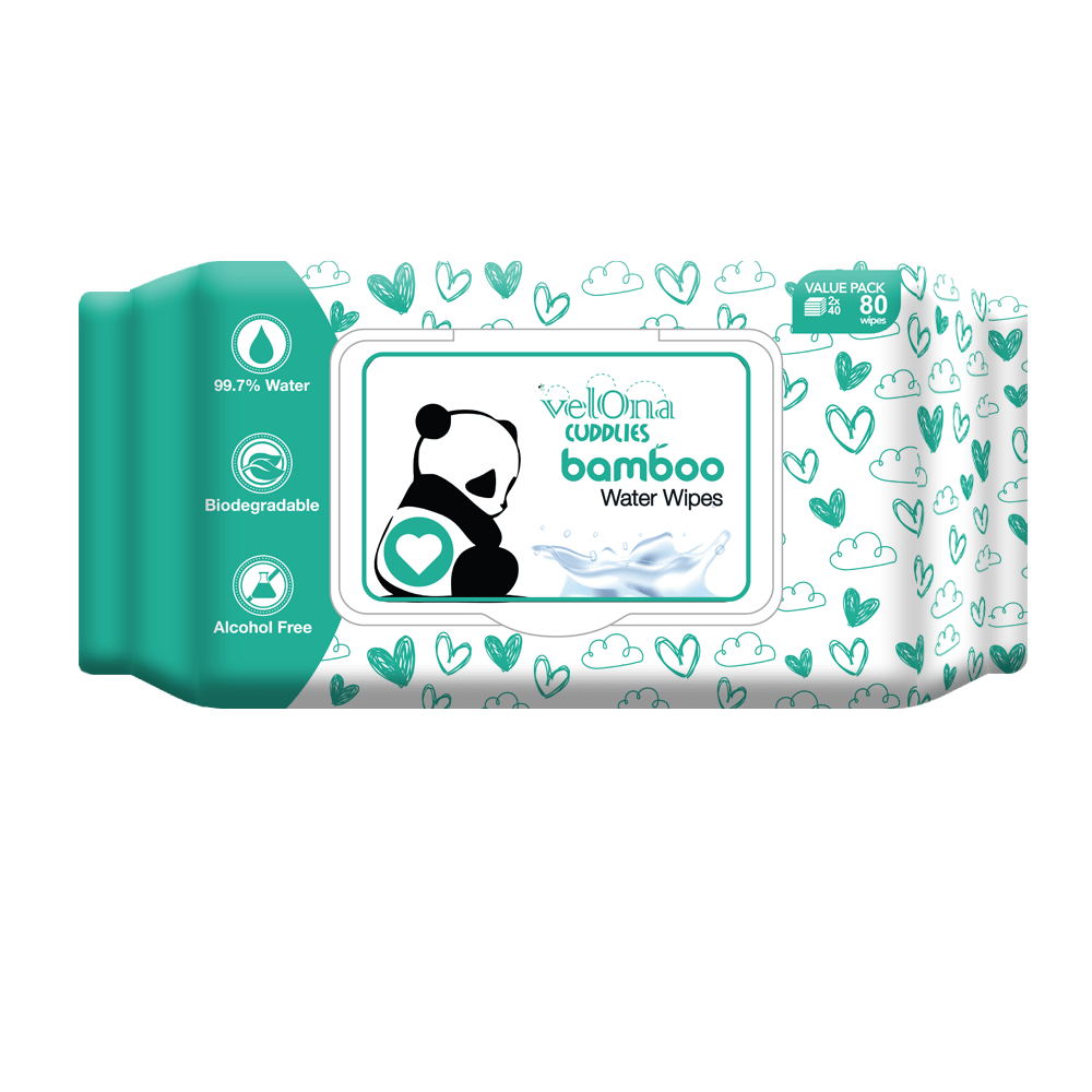 Velona Cuddlies Bamboo Water Wipes