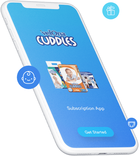 Velona Cuddles Diaper Subscription App