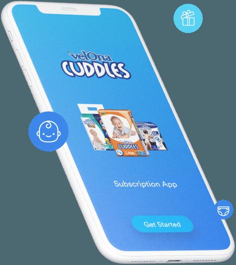 Velona Cuddles Diaper Subscription App