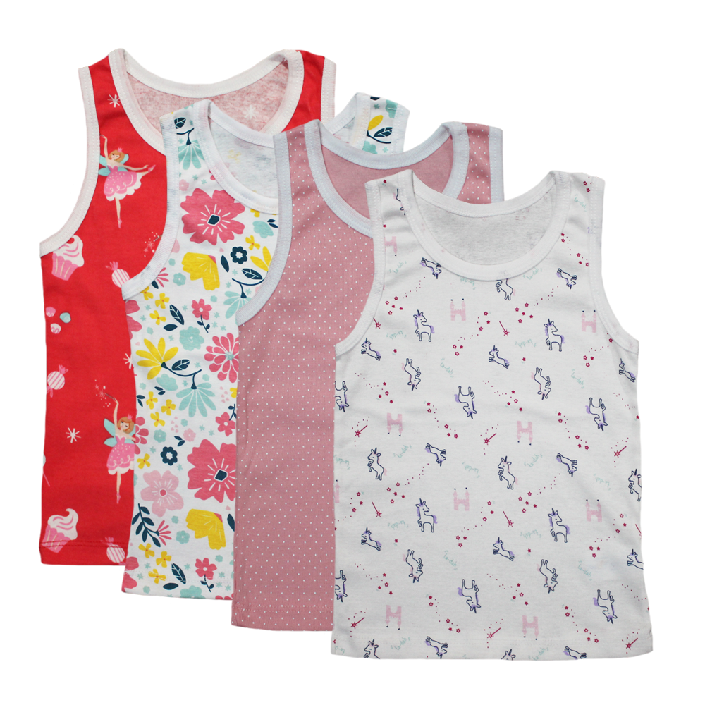 Velona Baby Vests - Mixed Pack
