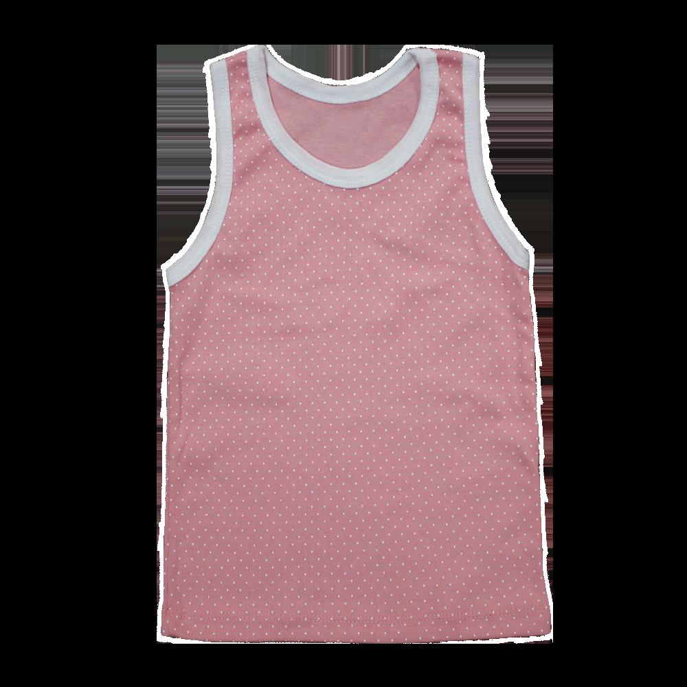 Velona Polka dotted baby vest