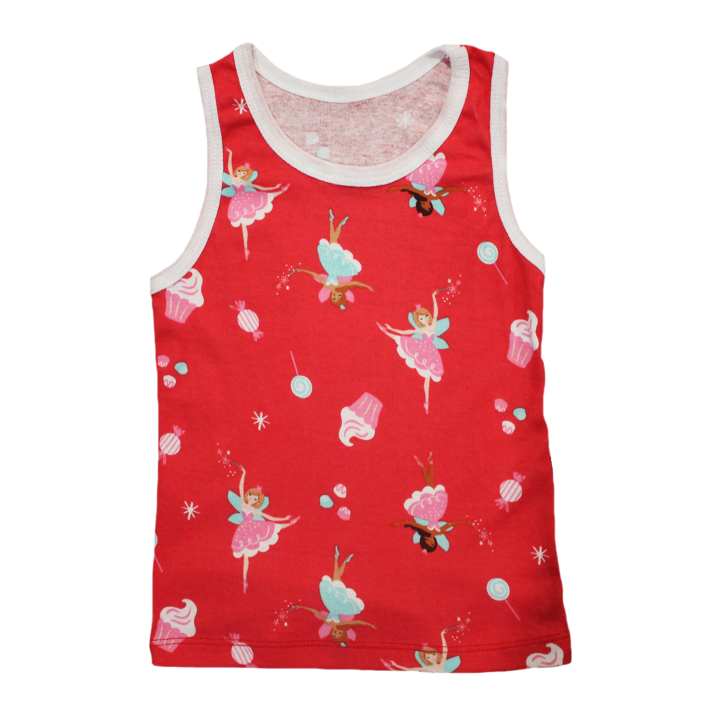Velona Fairies and Cupcakes Baby Vest