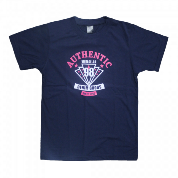 Kids Casual T Shirt in Navy
