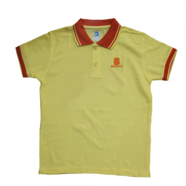 Bodyfit Kids Polo Shirt (yellow)