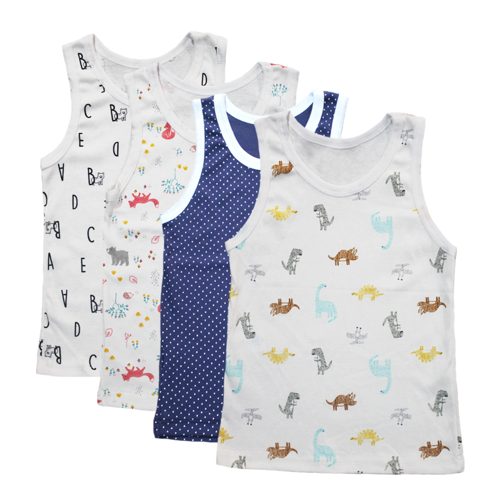 Unisec Velona Baby Vests (assorted pack)