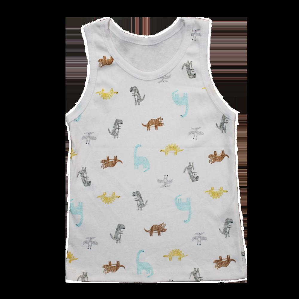 Velona Colourful animals Baby Vest