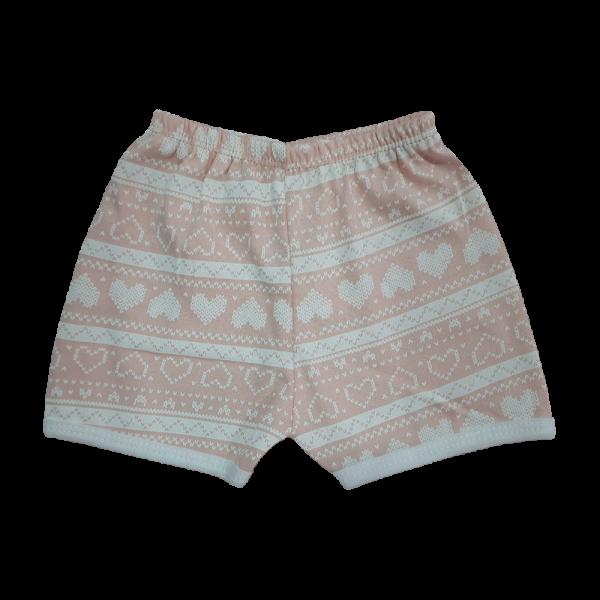 Love hearts baby shorts