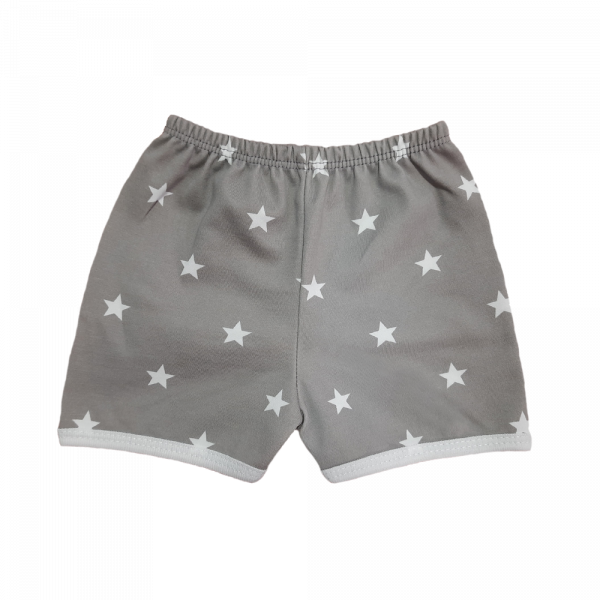 Unisex Star design baby short