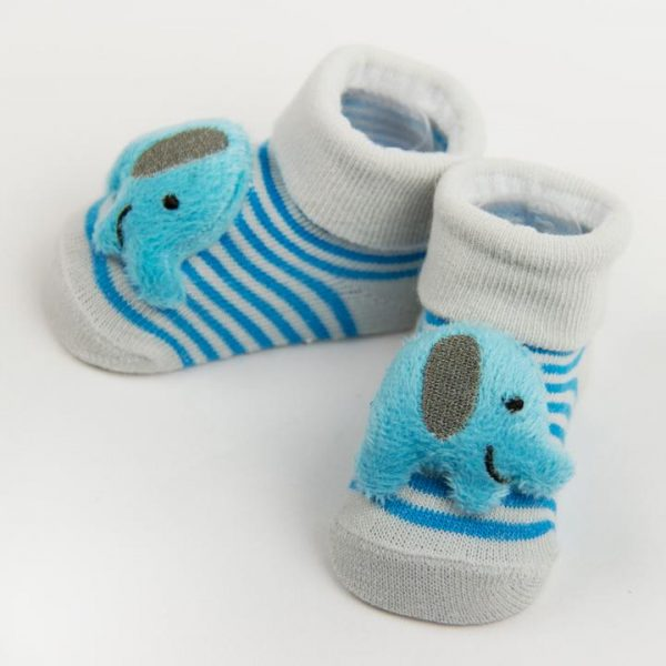 Baby Socks with Rattle