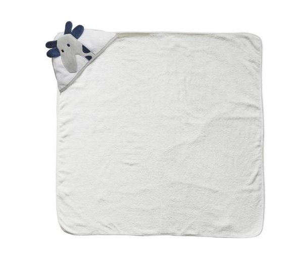 Hooded Giraffe Baby Towel