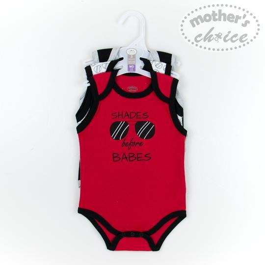 Mothers Choice Boys Bodysuits