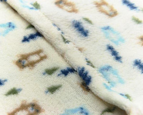 Close up of Baby Fleece blanket