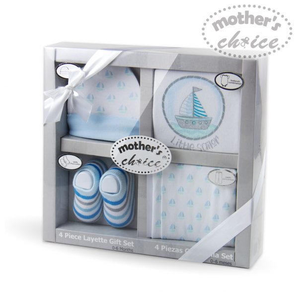 Mothers Choice 4pc boys giftset