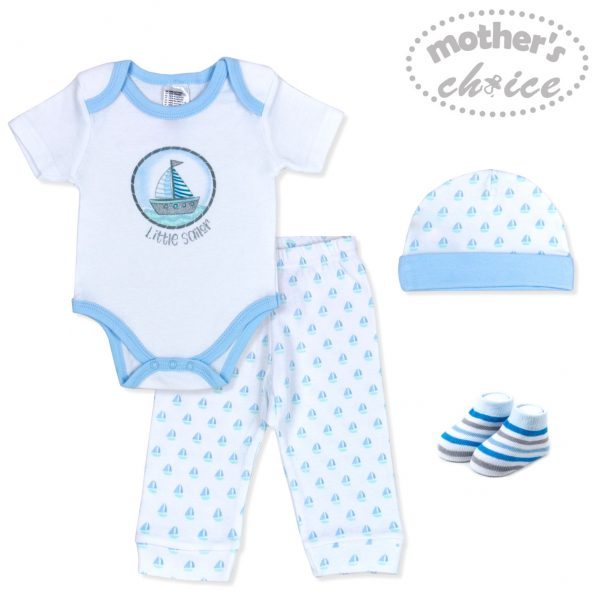 4pc Baby Layette Gift Set