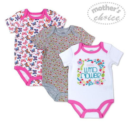 Floral Baby Girl Bodysuits